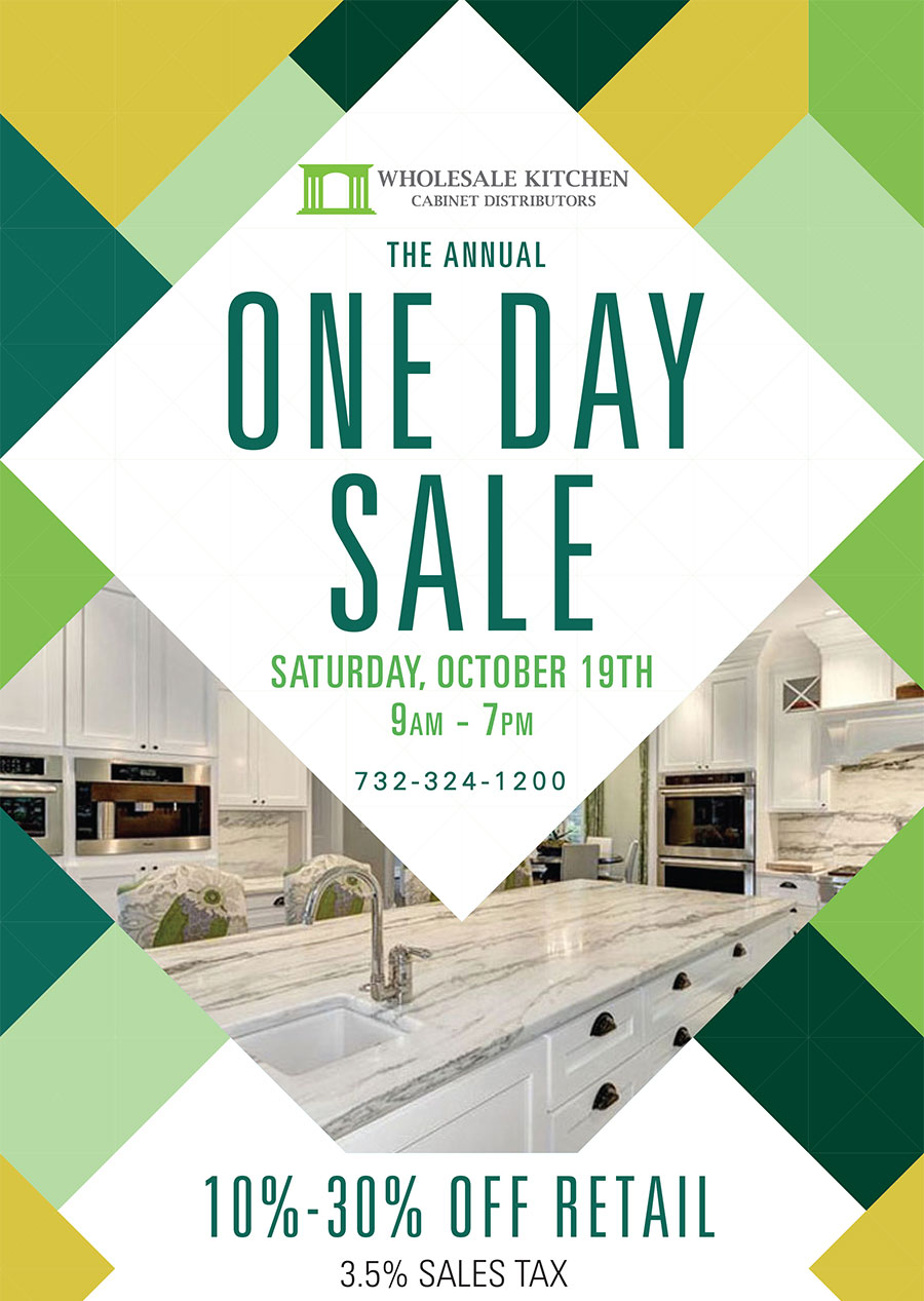 Wholesale Kitchen Cabinet Distributors 2019 Annual One Day Sale